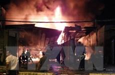Khẩn trương điều tra vụ cháy tại kho chứa xăng dầu ở Nha Trang