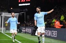 Kết quả bóng đá: Man City vẫn bất bại, bỏ xa Liverpool 5 điểm