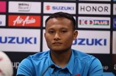 Trọng Hoàng nói gì về Bukit Jalil trước trận chung kết AFF Cup