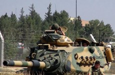 Thổ Nhĩ Kỳ sắp tiến hành chiến dịch quân sự ở miền Bắc Syria