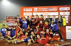 U21 Việt Nam giành chức vô địch sau loạt sút luân lưu may rủi