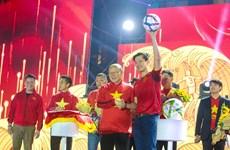 Đội tuyển Việt Nam giao lưu với người hâm mộ trong đêm Giáng sinh