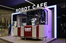 Quán càphê robot áp dụng mạng 5G đầu tiên trên thế giới