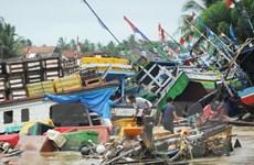 Indonesia sơ tán hơn 40.000 dân trước nguy cơ lại xảy ra sóng thần