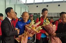 Tuyển Việt Nam đặt chân đến Qatar, chạy đà cho Asian Cup 2019