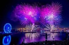 Hai kỷ lục thế giới về bắn pháo hoa được thiết lập tại UAE
