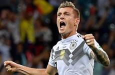 Tiền vệ Toni Kroos được DFB trao giải Bàn thắng của năm