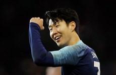 Son Heung-Min đến Asian Cup 2019 bằng phong độ vô cùng ấn tượng