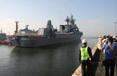 Tàu chiến Nga cập cảng Manila trong chuyến thăm Philippines 6 ngày