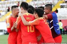 Cận cảnh Trung Quốc đánh bại Kyrgyzstan tại Asian Cup 2019