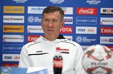 HLV Iraq Srecko Katanec nói gì trước trận gặp tuyển Việt Nam?