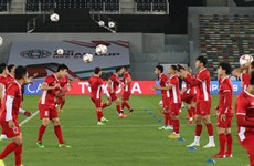 Đội tuyển Việt Nam tự tin chờ đón Iraq tại Asian Cup 2019