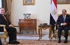 Ngoại trưởng Mỹ gặp Tổng thống Ai Cập, giải tỏa lo ngại của đồng minh