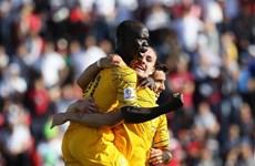Vùi dập Palestine, Australia rộng cửa vào vòng 1/8 Asian Cup 2019