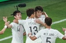 [Video] Hạ Kyrgyzstan, Hàn Quốc thẳng tiến vòng 1/8 Asian Cup