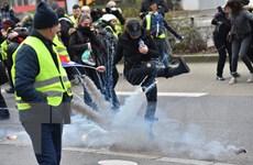 """Pháp: Làn sóng biểu tình """"Áo vàng"""" vẫn chưa có dấu hiệu hạ nhiệt"""