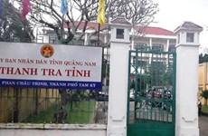 Phó Chánh Thanh tra tỉnh Quảng Nam tử vong tại cơ quan