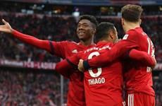 Thắng 7 trận liên tiếp, Bayern Munich 'phả hơi nóng' vào Dortmund