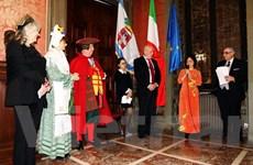 Một không gian Văn hóa càphê Việt Nam trên đất Italy