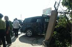 Thanh Hóa: 3 nạn nhân tử vong trong vụ xe khách đâm vào xe 7 chỗ