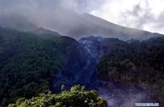 Indonesia sơ tán hơn 1.000 người dân sinh sống gần núi lửa Karangetang