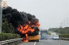 Trung Quốc: 42 du khách Hong Kong thoát chết trong vụ xe buýt phát nổ