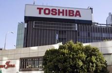 Tập đoàn điện tử Toshiba hạ dự báo về lợi nhuận tài khóa 2018-19