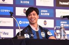 Công Phượng nói gì trong ngày ra mắt CLB Incheon United?