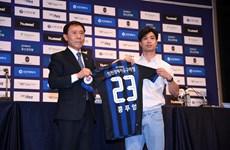 Cận cảnh Công Phượng chính thức ra mắt câu lạc bộ Incheon United