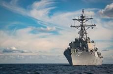 Tàu chiến Nga giám sát tàu khu trục của Mỹ tại Biển Đen