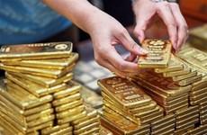 Giá vàng châu Á tăng lên mức cao nhất trong 10 tháng qua