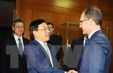 'Đức nhất trí củng cố và gia tăng nội hàm quan hệ với Việt Nam'