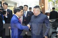 Chủ tịch Triều Tiên Kim Jong-un đã về đến khách sạn Melia