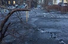 Nga: 'Tuyết đen' phủ kín nhiều nơi tại Siberia do ô nhiễm bụi than đá