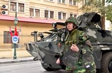[Photo] Các đơn vị quân đội bảo đảm an toàn cho hội nghị Mỹ-Triều