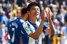 Ngôi sao bóng đá Trung Quốc đi vào lịch sử tại giải La Liga