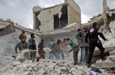 Liên quân chống IS sử dụng pháo phốt pho trắng tại miền Đông Syria