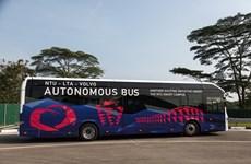 Singapore ra mắt xe buýt điện không người lái đầu tiên trên thế giới