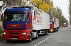 Nga nêu lý do đình chỉ chuyển hàng viện trợ tới khu vực Donbass