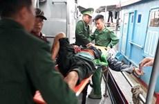 Nghệ An: Bình gas trên tàu cá phát nổ khiến 6 người bị thương nặng