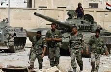 Quân đội Syria chặn đứng cuộc tấn công liều chết ở tỉnh Hama