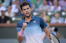 Ngược dòng hạ Federer, Thiem lần đầu lên ngôi tại Indian Wells