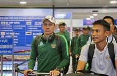 U23 Indonesia đặt chân đến Hà Nội, quyết tranh vé với U23 Việt Nam