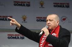 Thổ Nhĩ Kỳ, Nga chỉ trích lập trường của Mỹ đối với Cao nguyên Golan