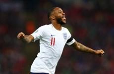 Vòng loại Euro 2020: Anh thắng hủy diệt, nhà vô địch 'bất lực'