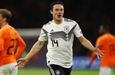 Vòng loại Euro: Đức thắng Hà Lan kịch tính, á quân thế giới bại trận