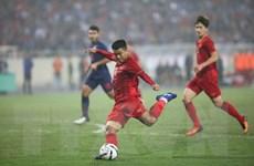 Cận cảnh khoảnh khắc Hà Đức Chinh sút tung lưới U23 Thái Lan