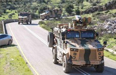 Thổ Nhĩ Kỳ phối hợp với Nga tuần tra tại thành phố miền Bắc Syria