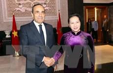 Chủ tịch Hạ viện Maroc đón và hội đàm với Chủ tịch Quốc hội
