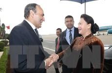 Chủ tịch Quốc hội bắt đầu thăm chính thức Vương quốc Maroc